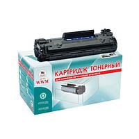 Картридж лазерный WWM для HP LJ P1505/M1120/1522 аналог CB436A (LC36N)