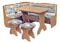 Кухонный уголок Фараон (стол+диван+2 табурета)