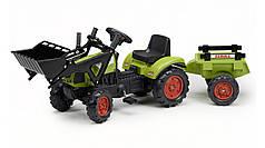 Детский трактор на педалях Falk 2040AM CLAAS Arion 410