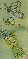 Комплект для девочек: лосины, носки (цвет салатовый), рост 98-104 см