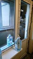 Выход на балкон ВДС Миллениум с монтажом в Киеве (066) 777-31-49