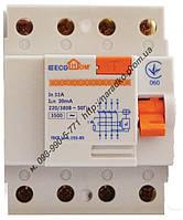 Устройство защитного отключения (дифреле) ПЗВ ECOНОМЕ 4p 40A/30мА