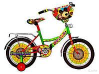 """Детский велосипед Mustang"""" Маша и Медведь"""" 18"""