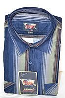 Вельветовая мужская рубашка (размеры с 39 по 46)