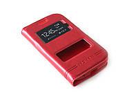 Кожаный чехол книжка для Samsung Galaxy Star Plus Duos S7262 красный