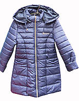 Пальто для девочки, подкладка нейлон (размеры 122-146)