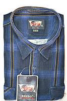 Вельветовая мужская рубашка (все размеры  от 40 до 46)