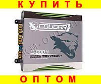Фирменный усилитель Cougar CAR AMP 600.4