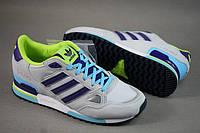 Adidas ZX750 серый/салатовый