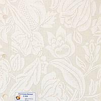 Рулонные шторы Ткань Фантазия Белый (Квиты 5276/3)