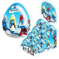 Шоколадное яйцо Смурфы The Smurfs 25 гр.