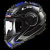 Мотошлем LS2 FF352 ROOKIE ATMOS Gloss Black-Blue, XS