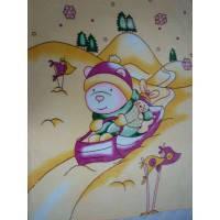 Плед детский флисовый-9