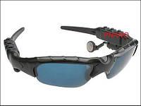 Солнцезащитные мультимедийные шпионские очки со встроенной Bluetooth гарнитурой