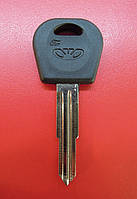 Заготовка автомобильного ключа Daewoo DAE4DP1  правый (DAE3P2)