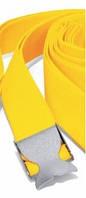 """Грузовой ремень дайвинга Best Divers нейлоновый; жёлтый; стальная пряжка """"хвост кита"""""""