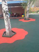 Бесшовные резиновые покрытия для детских и спортивных площадок