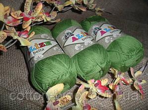 BELLA (Белла) 100% хлопок 492 зеленый