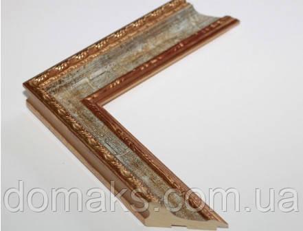 Багет деревянный шириной 50 мм, Италия