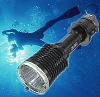 Подводный фонарь UltraFire CREE XML T6 с ножом 600 Lm