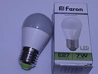 Светодиодная лампа Feron LB195 E27 7W 4000К (белый нейтральный)