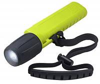 Светодиодный фонарь для дайвинга U.K. Mini Q-40 eLed Plus; с ремешком; жёлтый