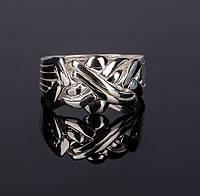 Уникальное серебряное кольцо головоломка от Wickerring, фото 1