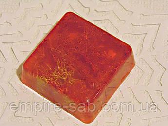 Мыло квадратное с люфой