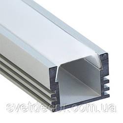 Алюминиевый профиль для светодиодной ленты CAB261