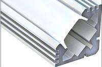 Алюминиевый профиль ПРЕМИУМ для светодиодной ленты угловой техно