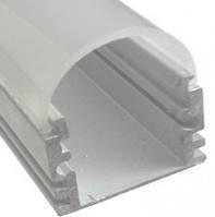 Алюминиевый профиль ПРЕМИУМ для светодиодной ленты накладной высокий №1