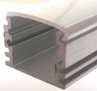 Алюминиевый профиль ПРЕМИУМ для светодиодной ленты накладной высокий №2