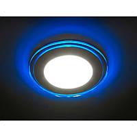 Светодиодная LED панель Feron AL 2660 16W с синей подсветкой