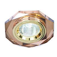 Точечный светильник  Feron  8020-2 коричневый