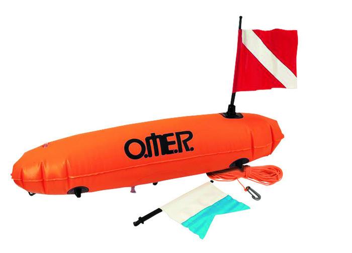 """Буй подводного охотника Omer New Torpedo - Интернет-магазин товаров для дайвинга """"Diving-shop"""" в Киеве"""