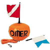 Буй для подводной охоты купить Omer New Sphere