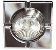 Точечный встраиваемый светильник Feron 098TS MR16 титан хром