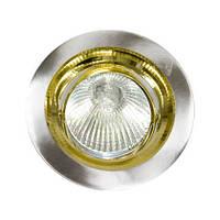 Точечный встраиваемый светильник Feron DL2009 MR16 титан золото
