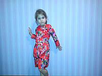 Платье нарядное для девочек 116-146 рост