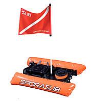 Плот-буй для подводной охоты Sporasub Overcraft S