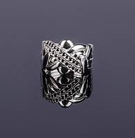 Серебряное кольцо-головоломка с сапфирами от Wickerring