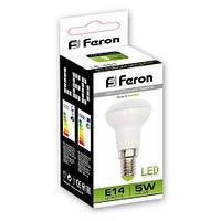 Светодиодная лампа Feron LB-439 R39 5W 4000K (Белый свет)