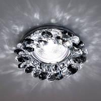 Точечный светильник  Feron  CD4141 MR16 чёрный хром
