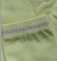Комплект для девочек: лосины, носки (цвет салатовый), рост 134-140 см, фото 1