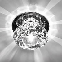 Точечный светильник  Feron JD80S прозрачный хром