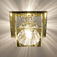 Точечный светильник точечный Feron JD55  жёлтый