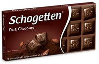 Шоколад Schogetten Dark Chocolate 100 г Темный горький шоколад Шоггетен 100г