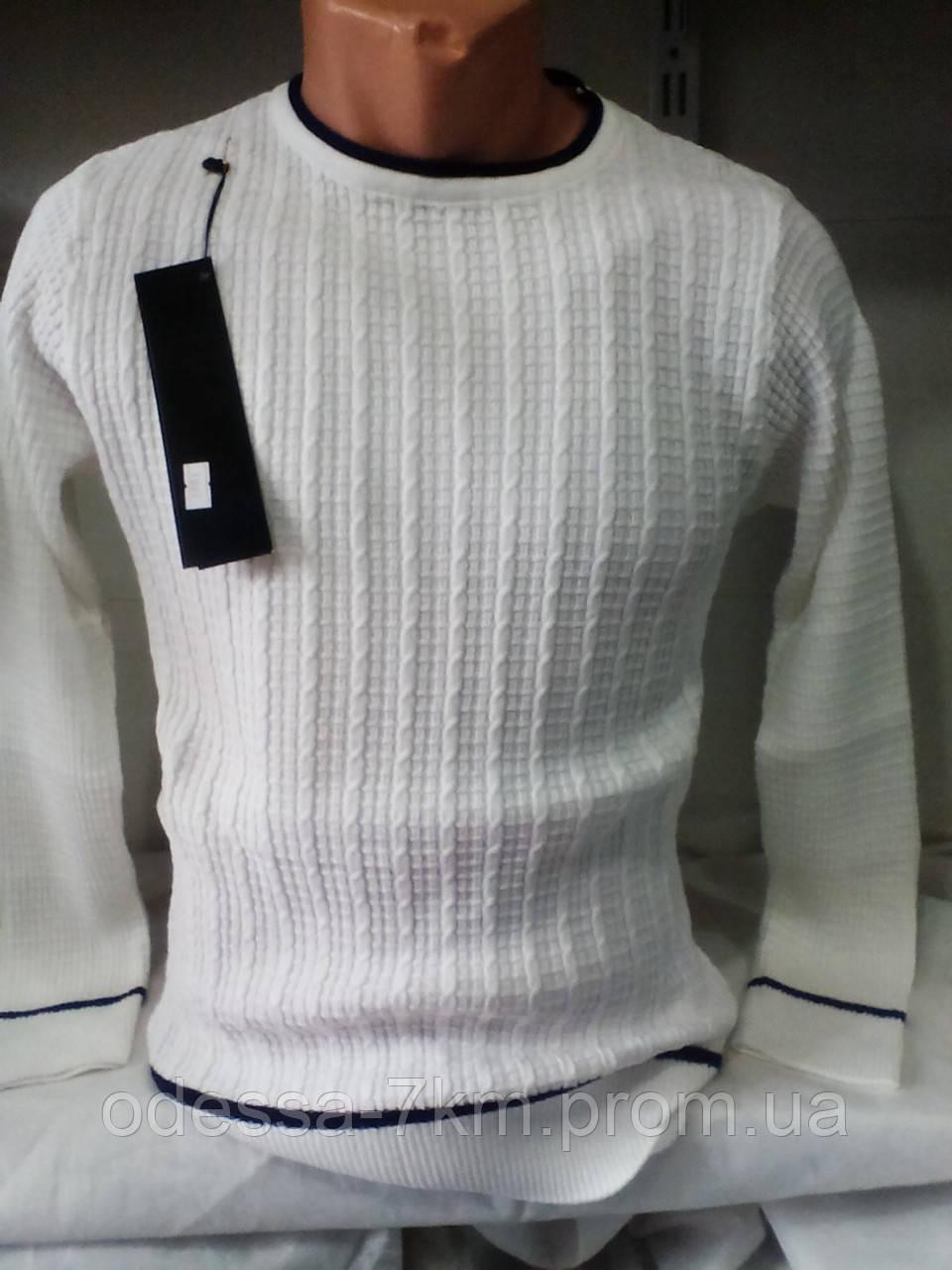 f6c8e8132586 Белый мужской джемпер 44-46 рр: продажа, цена в Одессе. свитеры и ...