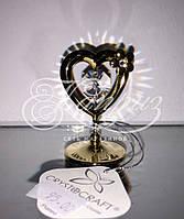 Статуэтка Crystocraft Swarovski День Святого Валентина Кристалл Подарок Сувенир Сердце