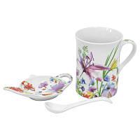 Набор для чая Полевые цветы 3 предмета  K24-198-076